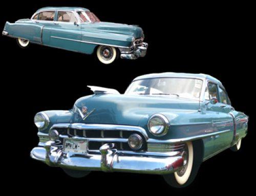 Cadillac 1950 Azul