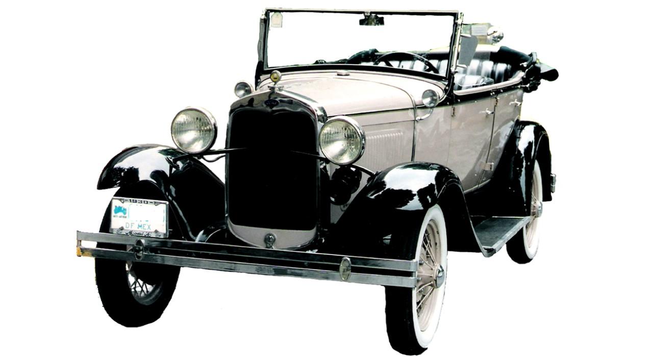 Ford, auto clasico, en renta